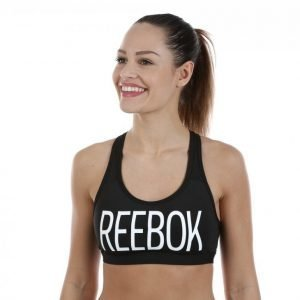 Reebok Hero Racer Brand Bra Urheiluliivit Musta