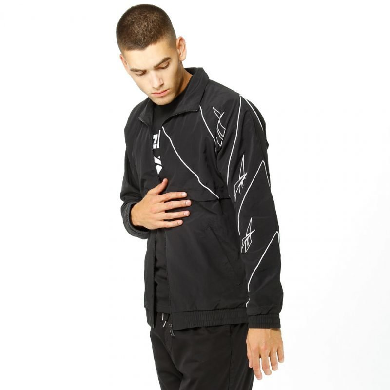 Reebok Multi Place Track Top -zip crew