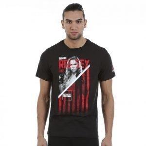 Reebok Rousey Fighter Tee T-paita Musta