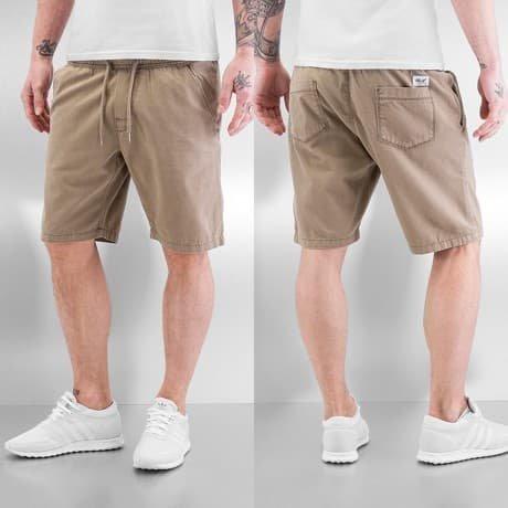 Reell Jeans Shortsit Khakiruskea