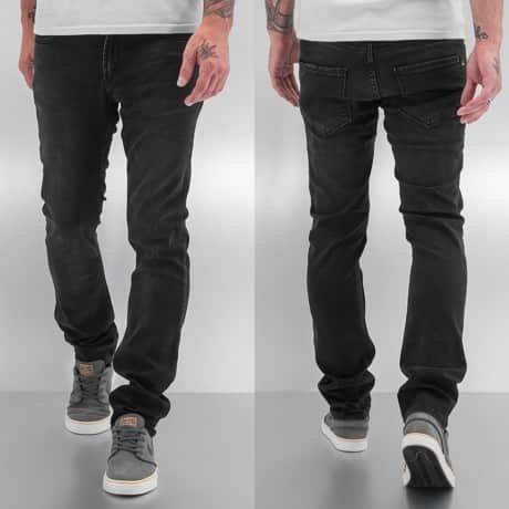 Reell Jeans Straight Fit Farkut Musta