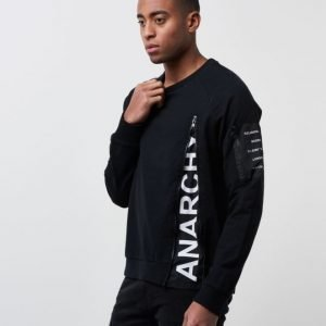 Religion Ananrchy Sweat Black