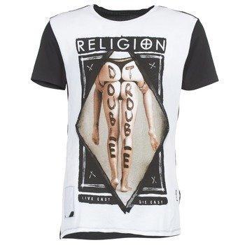 Religion DOUBLE TROUBLE lyhythihainen t-paita