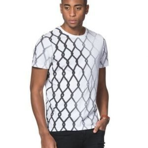 Replay Fence Tee White