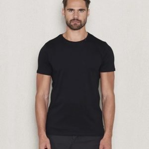 Replay RBJ Back Printed Tee Black