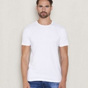Replay RBJ Back Printed Tee White