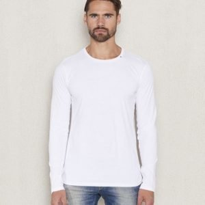 Replay RBJ L/S Tee White