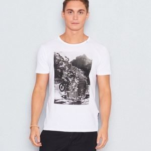 Replay RBJ Printed Tee White