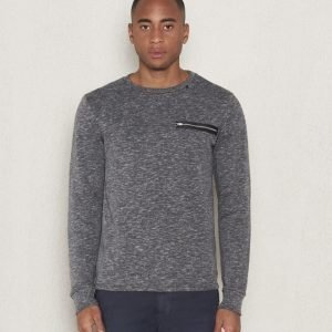 Replay RBJ Zip Sweat Dark Grey