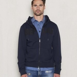 Replay RPL Zip Hood Navy