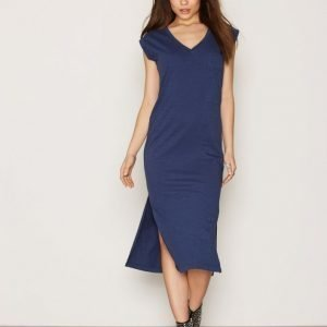 Replay W9402 000 22348 Dress Loose Fit Mekko Blue