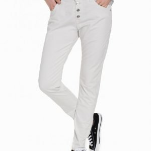 Replay Wa698 8055180 Pilar Loose Fit Farkut White