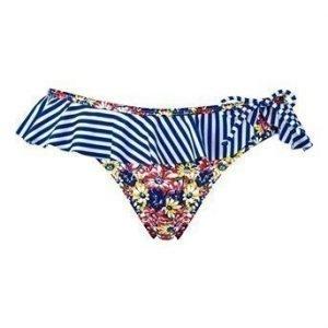 Resort Bikinihousut Raidallinen Kukallinen