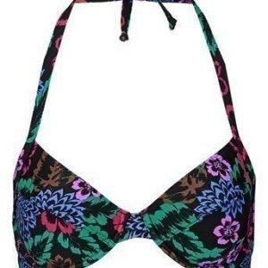 Resort Bikiniliivit Musta Kukallinen