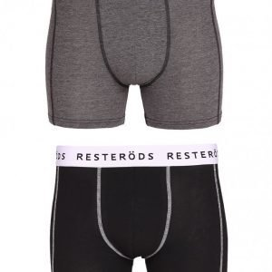 Resteröds 2-Pack Sven Boxer Bokserit Grey Black