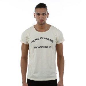 Resteröds Jimmy Printed T-paita Valkoinen