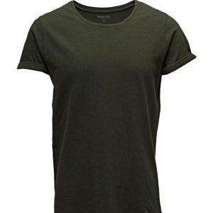 Resteröds Jimmy Solid Cotton-Linen lyhythihainen t-paita