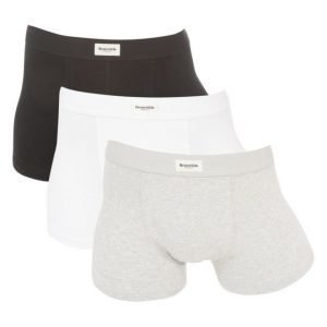 Resteröds Original 3 Pack Trunks Black/White/Grey