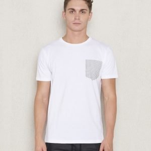 Revolution RVLT Pocket Print Tee White