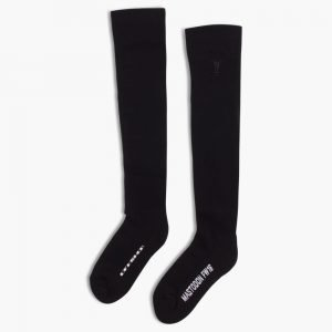 Rick Owens DRKSHDW Knee High Mastodon Knit Socks