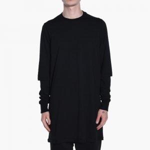 Rick Owens DRKSHDW Woven Long Sleeve T-Shirt