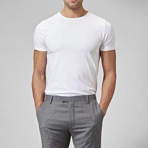 Riley Holborn T-Paita Valkoinen