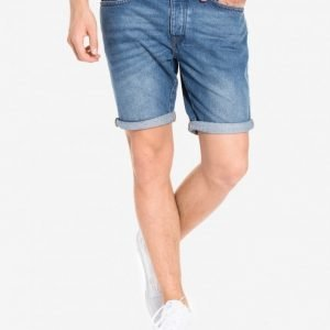 River Island 5 Pocket Denim Shortsit Vintage Blue Denim