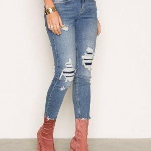River Island Alannah Javlin Jeans Skinny Farkut Blue
