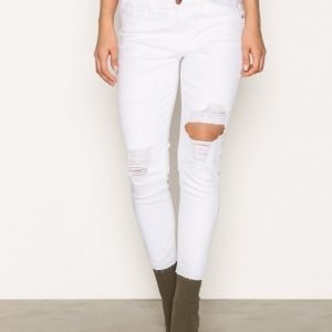 River Island Alannah Jeans Skinny Farkut White