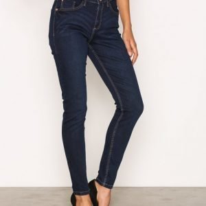River Island Amelie Terry Regular Length Jeans Skinny Farkut Dark Denim