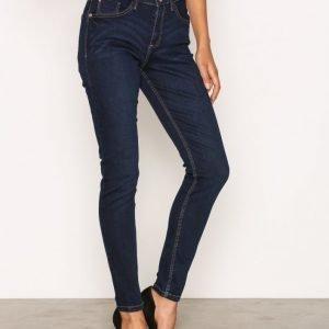River Island Amelie Terry Regular Length Jeans Skinny Farkut Dark Denim