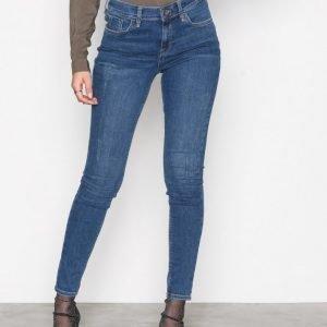 River Island Amelle Super Skinny Jeans Farkut Mid Blue