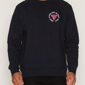 River Island Faith & Glory Sweat Pusero Navy