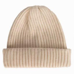 River Island Fisherman Beanie Pipo Cream