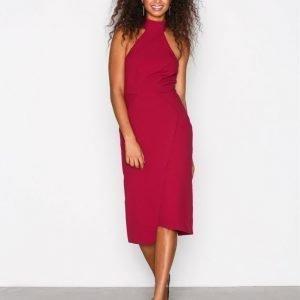 River Island Fitted Dress Kotelomekko Berry