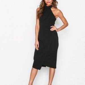 River Island Fitted Dress Kotelomekko Black