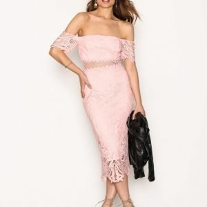 River Island Harper Dress Kotelomekko Pink