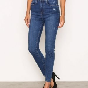 River Island Harper Madonna Jeans Skinny Farkut Mid Dark