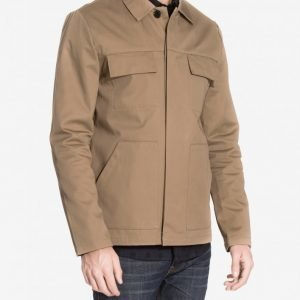 River Island Lobster Jacket Takki Neutral