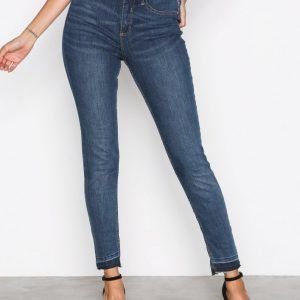 River Island Molly Brad Jeans Skinny Farkut Dark Denim