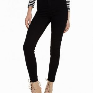 River Island Molly High Rise Jeggings Slim Farkut Black