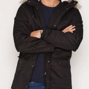 River Island Pekingese Jacket Takki Black