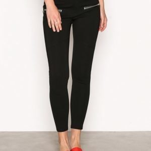 River Island Penton Mid Rise Skinny Trousers Housut Black