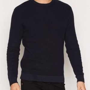 River Island Rodeo Texture Jumper Pusero Navy