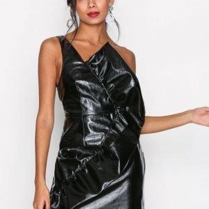 River Island Sleeveless Bodycon Dress Kotelomekko Black