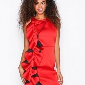 River Island Sleeveless Bodycon Dress Kotelomekko Red