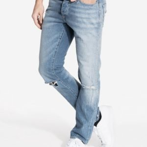River Island Slim Rigid Texus Farkut Light Wash