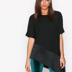 River Island Ss Tendril Tee Pusero Black