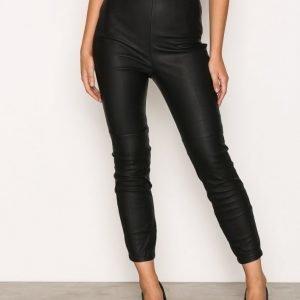River Island Super Skinny Trousers Housut Black