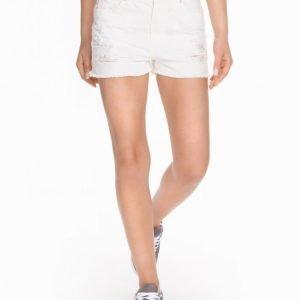 River Island White Jeans Shortsit White